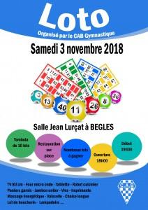 affiche loto 2018 novembre